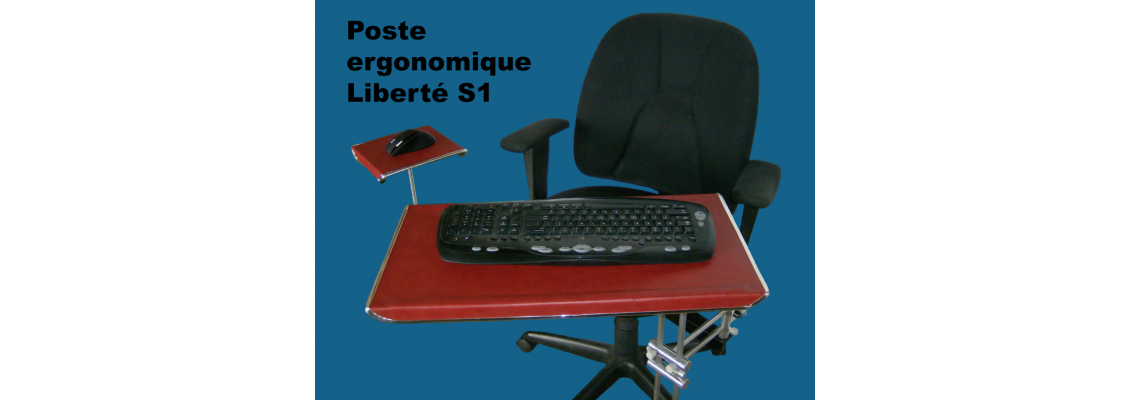 Ergonomic workstation Liberté 1 and S1