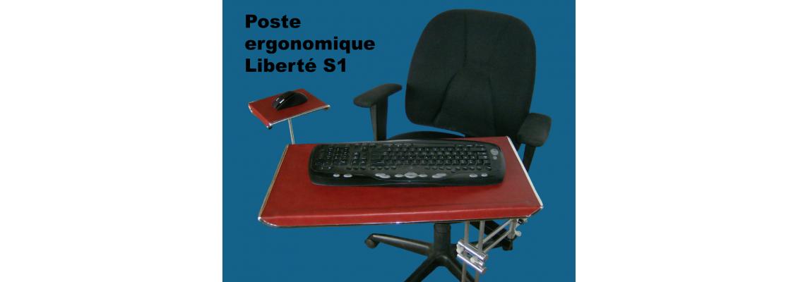 Ergonomic workstation Liberté 1 and S1